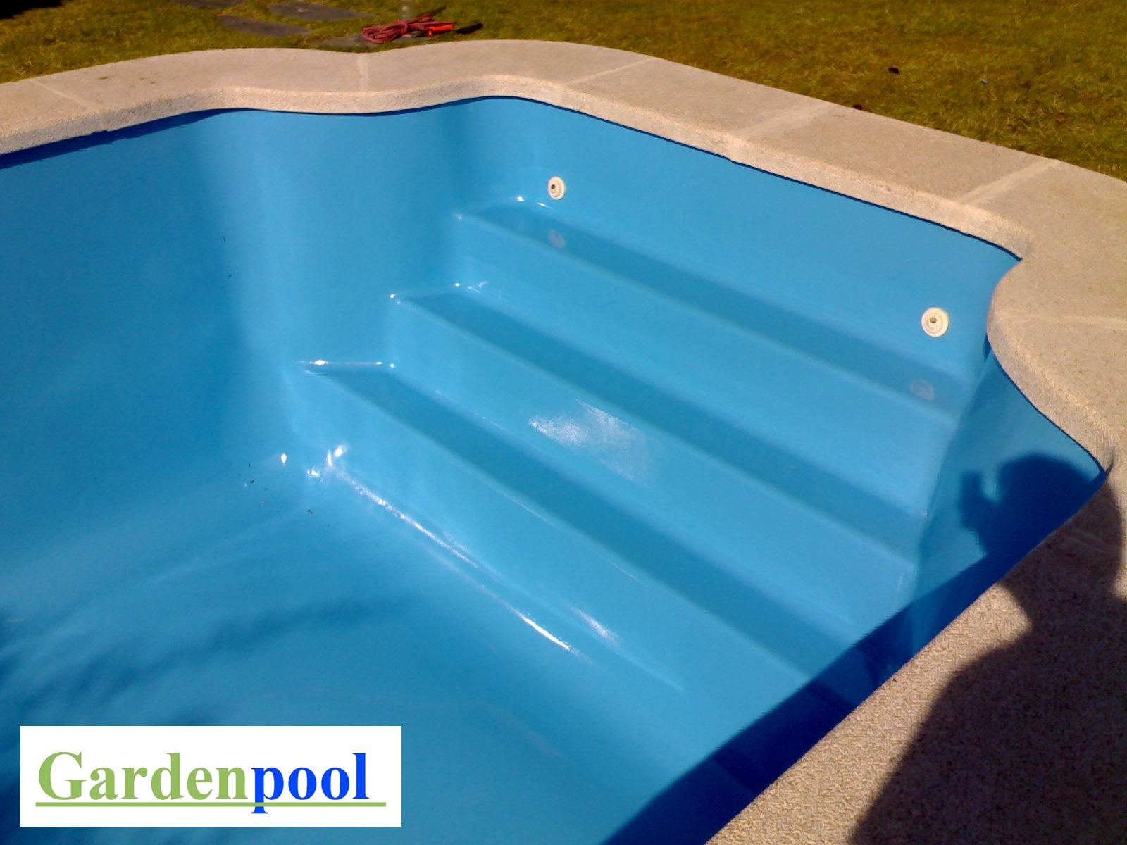 Pintura para piscina poliester fibra de vidrio Madrid GARDENPOOL
