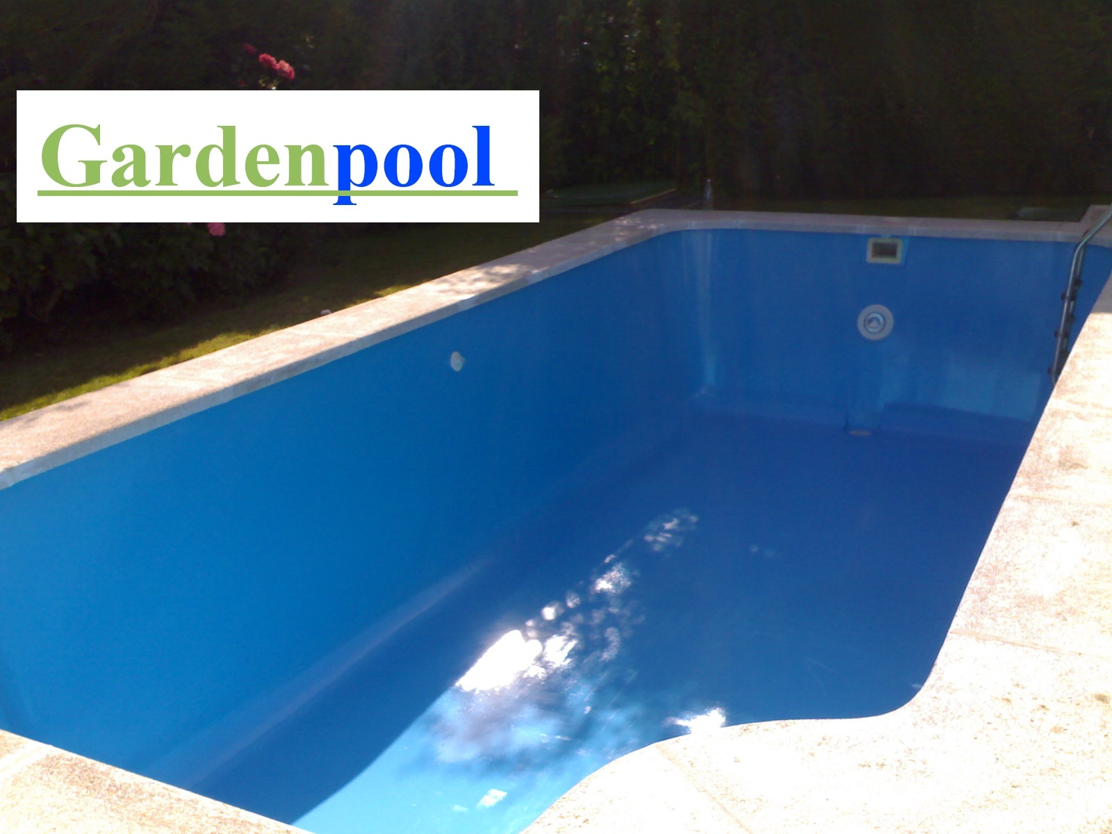 Pintura para piscinas de poliester simple piscina with - Pintura de piscina ...